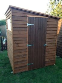 New garden shed 69x68 inches