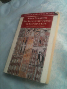 The Elementary Forms of Religious Life by Durkheim