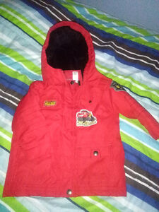 Boys size 2 Red Cars two piece snowsuit London Ontario image 1
