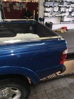 Ford ranger bed rails