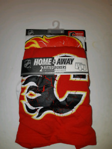 Calgary Flames Medium Home & Away Fitted Boxers