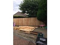 Fence build, repair, treat or paint