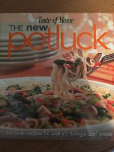 The NEW Potluck recipe book