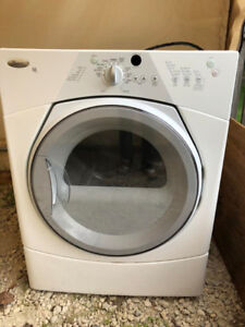 Whirlpool Duet dryer High Efficiency (HE) front load