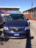 2003 Mazda MPV LX - Clean!