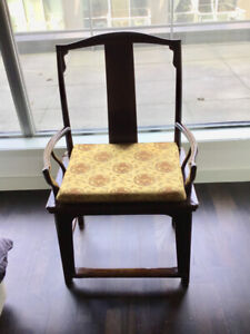 Antique Ming Elmwood Chairs from Shanghai