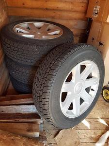 4  Pneus  Hivers  -   Sur  roues Mag