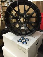 """18"""" BMW staggered matte black wheels/rims new in box !!!"""