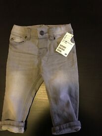 Boys 4-6month jeans