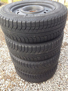 4 Michelin X-ice Xi2 tires on rims Oakville / Halton Region Toronto (GTA) image 2