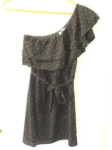 Women's Indulge Off the Shoulder Dress Size Medium Black London Ontario image 2