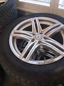 Very good winter tires with rims Kitchener / Waterloo Kitchener Area image 1
