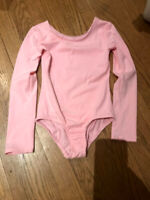 Girl's pink dance body suit size 6