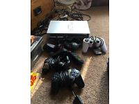 Ps2 3 controllers and 26 games
