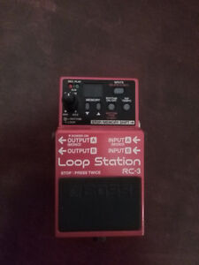Boss RC-3 loop pedal
