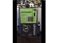 Coin operated jetwash powerwasher