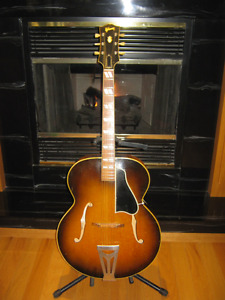 Vintage 1951 Gibson Super 300 Sunburst -Rare 1 of 200 Ever Built