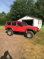 1998 jeep Cherokee lifted