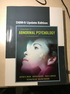Abnormal Psychology (essentials of abnormal psychology - DSM-5)