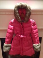 Juicy couture girl size 8-10 winter coat.