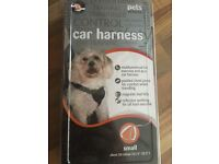 Small dog car harness - never been used