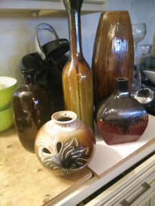 Decor vases and such