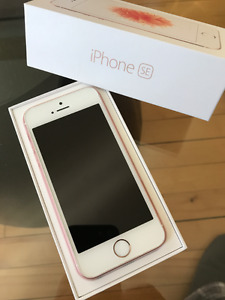 iphone SE 16g rose or --koodo telus
