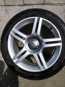 Audi  A4 VW  235/45/17 sport tires on original Audi rims