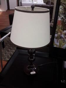 *** USED *** ASHLEY MISTY METAL LAMP (2/CN)   S/N:51147079   #STORE509