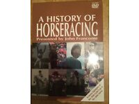 New sealed DVD box set/ history of horse racing £2.