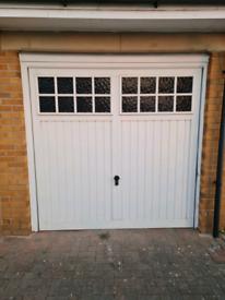 Garage door for scrap