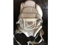Retro mountain baby carrier