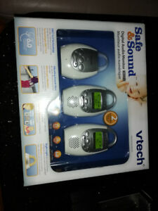 Vtech Safe and Sound digital monitor(New)