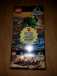LEGO Star Wars  7144 and 7104
