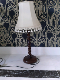 Vintage light with original shade