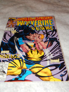 Album double Marvel Ghostrider 121 et Wolverine