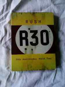 Rush R30 deluxe edition music dvd/cd set