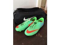 Children's football boots size 2.5
