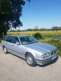 CLASSIC BMW E34 TOURING 525I SE AUTO 1 OF THE LAST MADE (F S H)