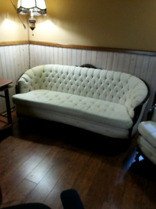 SOFA AND CHAIR.