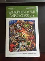 YorkU SOSC 1510-Work, Industry and Canadian Society 7th edition