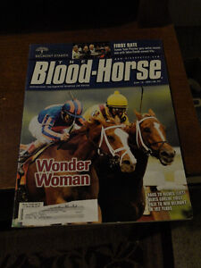 Blood Horse Magazines - triple crown issues etc