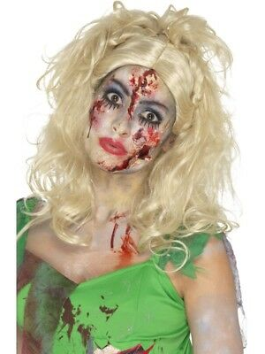 Blonde Zombie Fairy Wig Fancy Dress Costume Accessory Ladies Tinkerbell](Zombie Tinkerbell Costume)