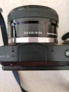 Sony Nex 3N  Camera with Zoom lens  and Extra batteries charger