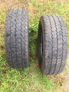 Continental 225/75/16 tires