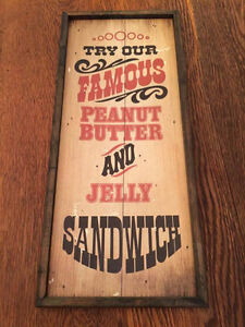 Rustic Sign For Sale