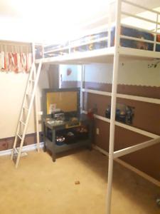 Twin Ikea loft bed