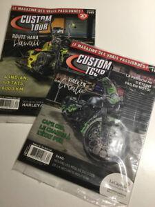 Revues de moto Custom Tour