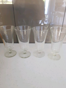 Set of 4 x glasses Rangeville Toowoomba City Preview
