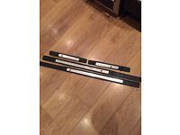 Genuine audi s3 8p kick plates door trims sills